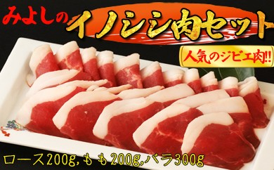 B172 コラーゲン豊富!【天然】みよしの「いのしし肉セット」みやき町産