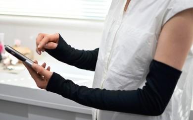 [№4631-1308]レディース柔らかUV手袋(40スムース)クレジット決済のみ