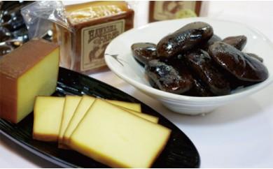 B7 スモークチーズと花豆セット