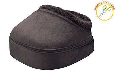 【33025】足フットマッサージャー冷え性にも温かなもみ感足裏マッサージ