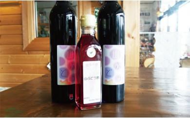 B13 山ぶどうワイン・山ぶどう酢のセット