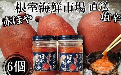 CA-14086 根室海鮮市場<直送>ほや塩辛130g×6本[461846]
