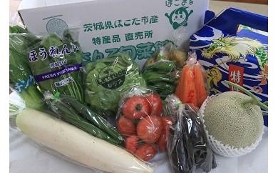 No.270 旬のメロンと季節野菜セット