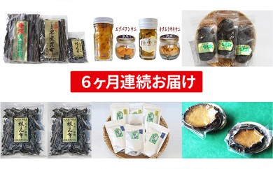[№5901-0479]☆野崎水産☆人気商品セット~6ヶ月連続お届け