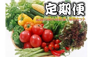 H-5  【6ヶ月お届け】肥前の国のお野菜・果物定期便