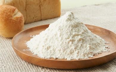 [№5930-0089]【友好都市交流北海道新篠津村】有機小麦粉 はるきらり 5kg