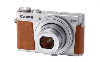 No.096 キヤノン デジタルカメラ PowerShot G9X Mark 2、CS100、ソフトケース、32GB SDカード付