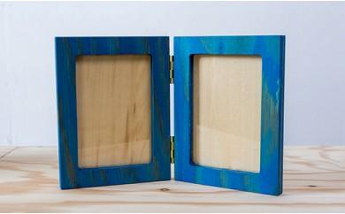北海道育ちの木材を使った宮大工特製「フォトスタンド」