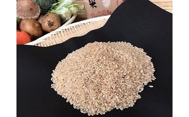 自然がはぐくむお米(マキタ超コシヒカリ)玄米5kg