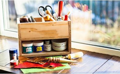 北海道育ちの木材を使った宮大工特製「小物入れ」