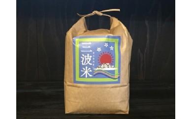 A-53【減農薬】竹田城跡からの朝日を受けて育った三波産コシヒカリ2㎏