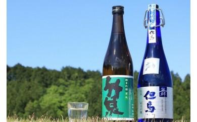 C-39 純米吟醸飲み比べセット…2酒蔵の純米吟醸酒セット(小)