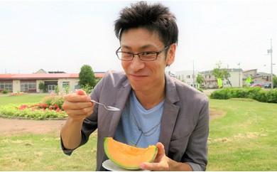 真夏の贅沢「特秀品 完熟キングメロン」2玉