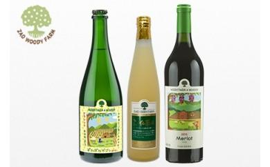 0062-108 ワイン2本【メルロ(赤)ラ・フランスポワレ(微発泡)】ラ・フランスジュースセット