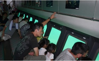 【A23】海中観光船「たてやま」乗船券2枚セット