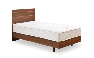 P-13 安心安全の日本製ベッド!!「メモリーナ ZT030」 1台(セミダブル)