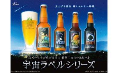 837.宇宙ラベルビール20本セット
