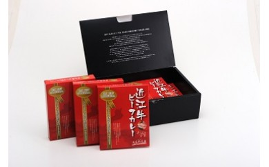 近江牛 毛利志満 ビーフカレー6食(化粧箱入り)
