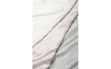 シルク掛けふとんカバー/ピンク