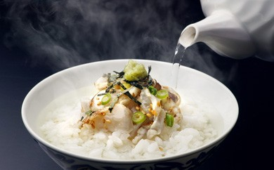 牧島流茶漬け 炙りとらふぐ3種セット(6食)[しお、梅醤油、白みそ仕立て]