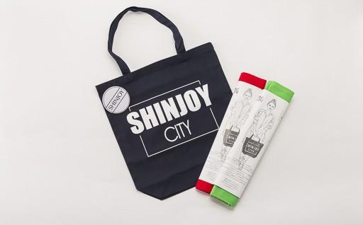 B2924-01 「SHINJOY CITY」 トートバック