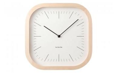 箱根の間伐材を利用した壁掛け時計(ライン)