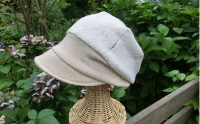 洗濯OK!オーガニックコットンキャスケット帽子