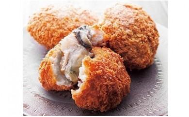 人気商品!糸島の牡蠣クリームコロッケと牛コロッケ6個セット