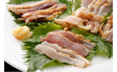 幻の性成熟の鶏肉  シャポーン鹿児島鶏たたき 【限定お得な960g】