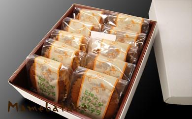 お菓子屋豆畑のバターカステラ10個入り
