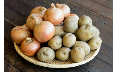★受付終了★佐藤農場の男爵芋と玉葱セット