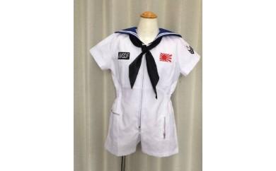 【セーラー服】子供用ミリタリースーツ