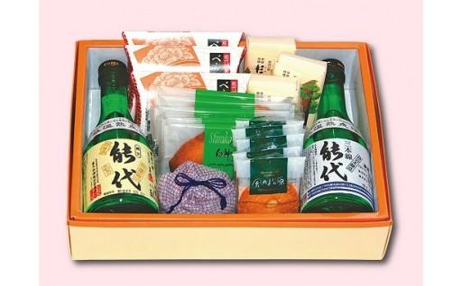 【A24】地酒とお菓子の詰合せA