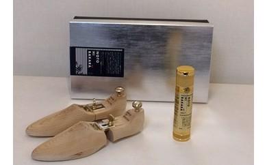 【NOTOHIBAKARA】シューキーパーと靴用スプレーセット(Mサイズ)