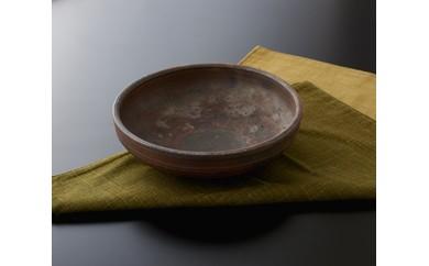 焼締窯変盛鉢(丹久窯)