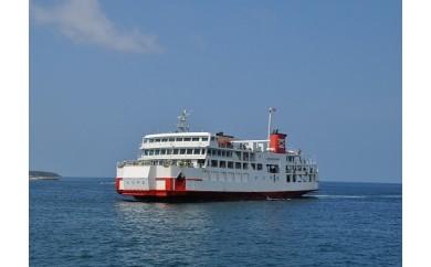 【《往復》旅客乗船券】東京湾フェリー