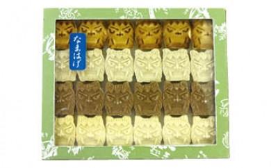 商品名 秋田の伝統菓子! 「なまはげもろこし 24枚入り」