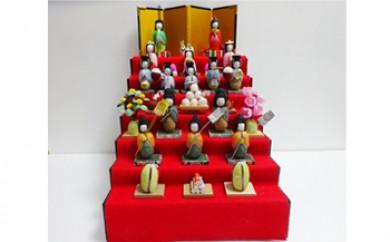 繭雛人形 7段飾り