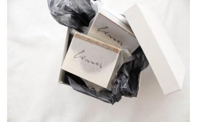 【マイスター手作り】草木花の石けんとホーリーバジルの石けんアソート(泡立てネット付き)