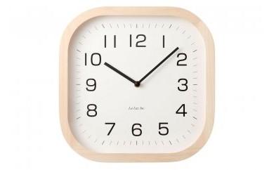 箱根の間伐材を利用した壁掛け時計(ナンバー)