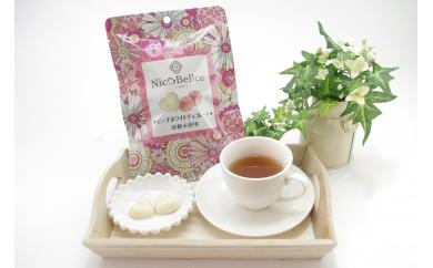 【砂糖未使用ニコベルチェ】ピーチホワイトチョコレート