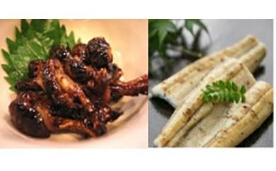 鹿児島県大隅産 千歳鰻の白焼鰻 1尾・鰻焼肝セット
