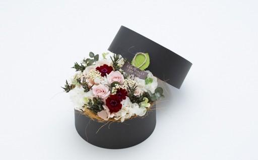 F2928-05 お花屋さんが選ぶ花植物 プリザーブドフラワーアレンジメント大