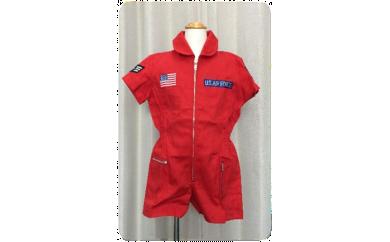【アメリカ空軍・レッド】子供用ミリタリースーツ
