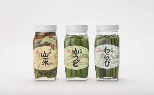 B3001-04 産地直送 山形県産山菜水煮セット