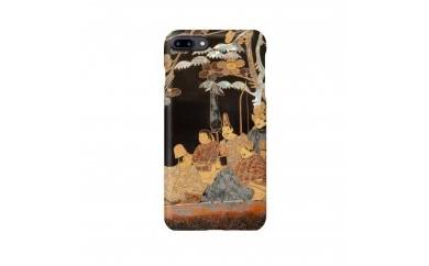 漆藝iPhoneケース 「樹下六歌仙蒔文箱」モチーフ
