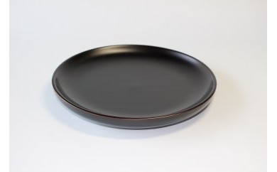 浄法寺塗 壬生皿7寸 タメ