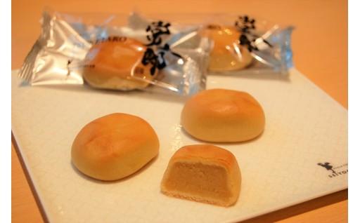 [A-0802] 昔懐かしい『お焦げの香』を洋菓子で味わえる!ミルク饅頭「常太郎」 2箱