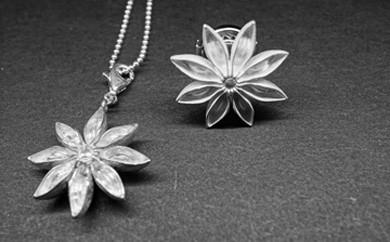 ハンドメイドジュエリー「star anis」 pins