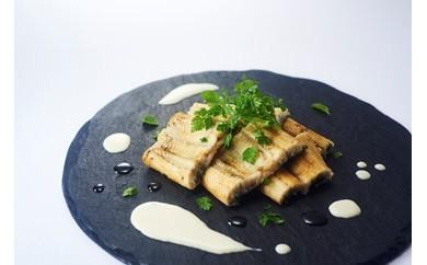 料理研究家高木ゑみ監修 鹿児島県産大崎鰻の白焼き×白ワインソース